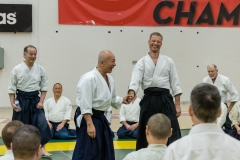 A light moment between Sensei and Robert van der Zalm